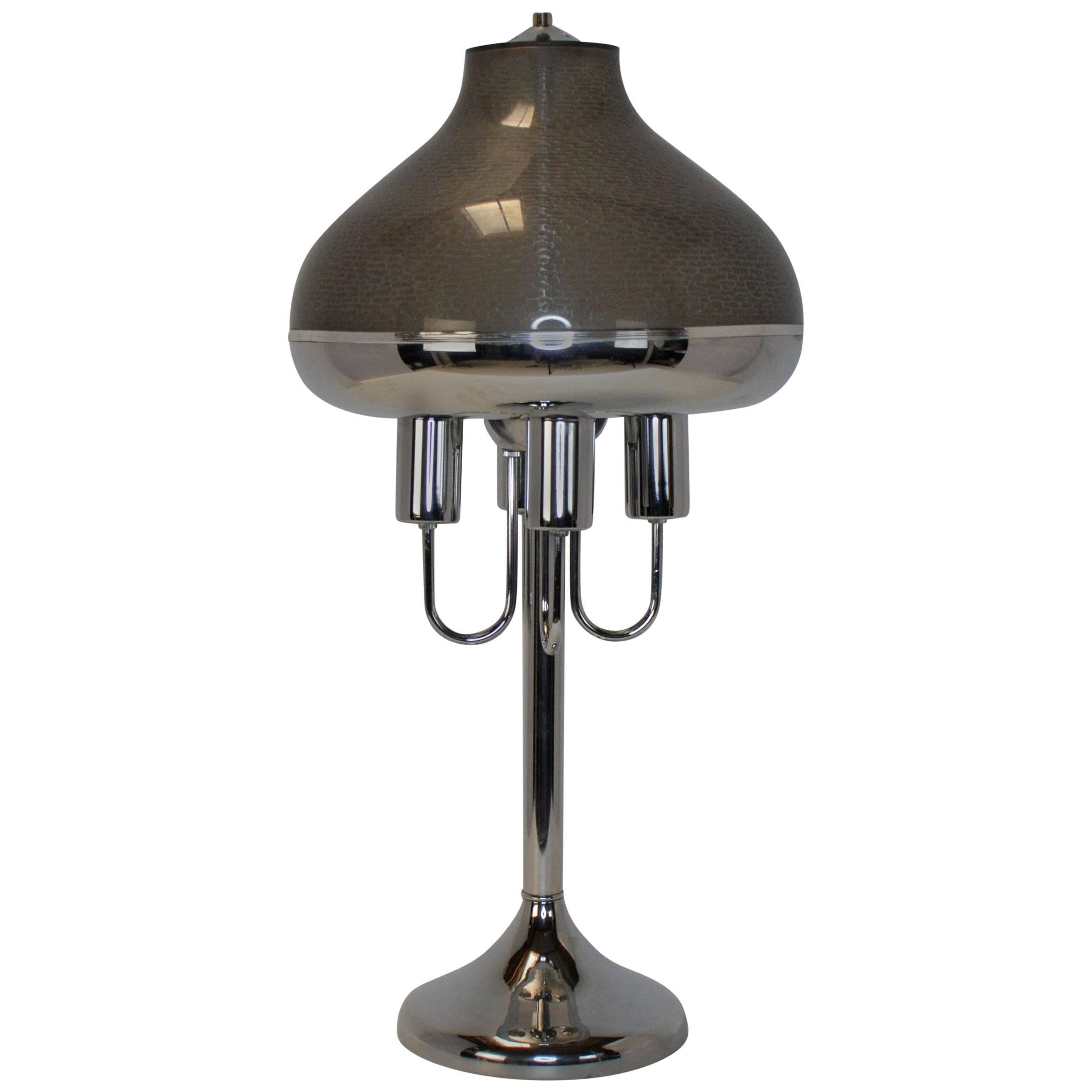 Italian Modern Table Lamp, 1970s-1980s