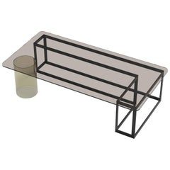 Nunki Rectangle Coffee Table by Iacoli & McAllister, Handmade in USA