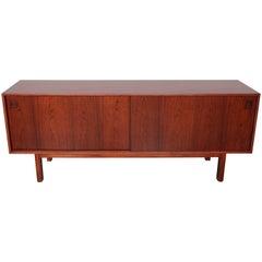 Danish, Mid-Century Modern, Rosewood Sideboard by Gunni Omann