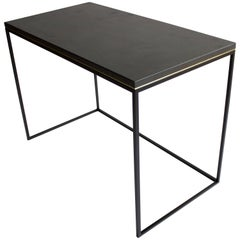 Wilson Modern Minimalist Concrete Writing Desk or Console