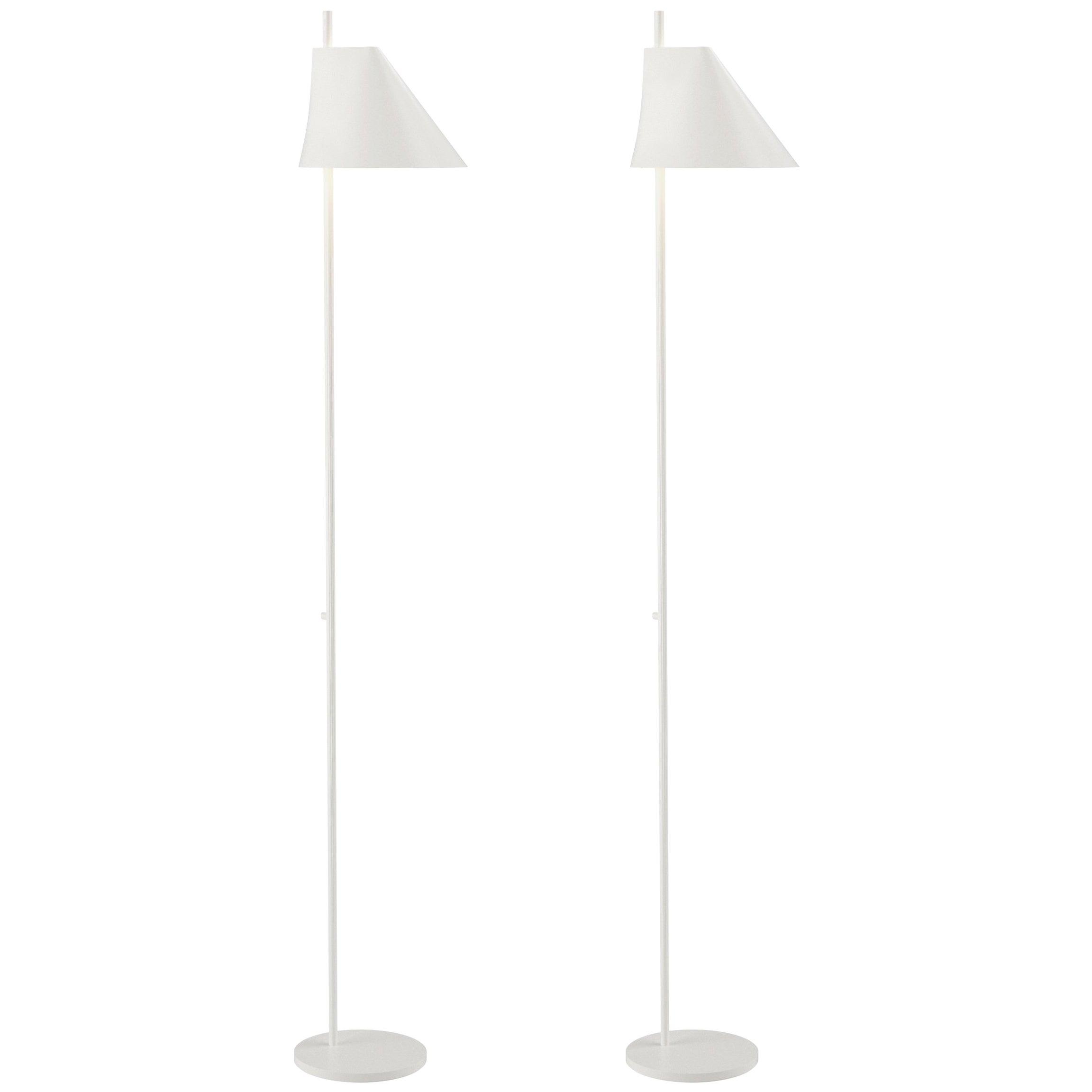 Gamfratesi White 'YUH' Floor Lamp for Louis Poulsen