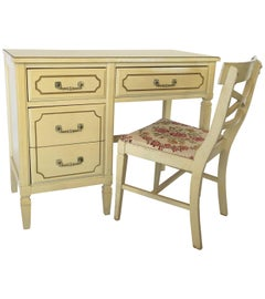 French Regency Writing Desk and Chair