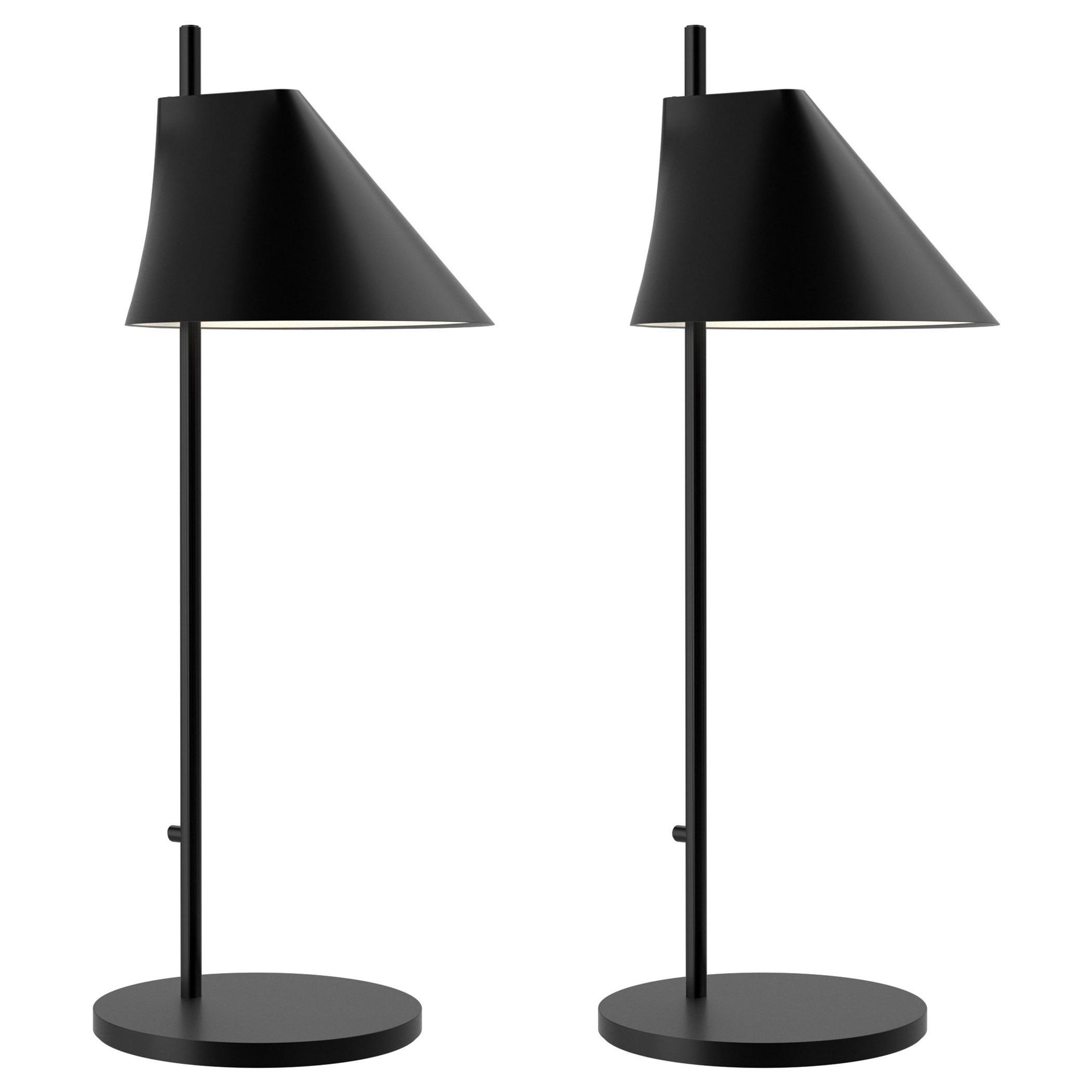 GamFratesi Black 'YUH' Table Lamp for Louis Poulsen