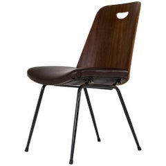 "Rare ""DU22"" Plywood Chair by Gastone Rinaldi for RIMA, 1951"