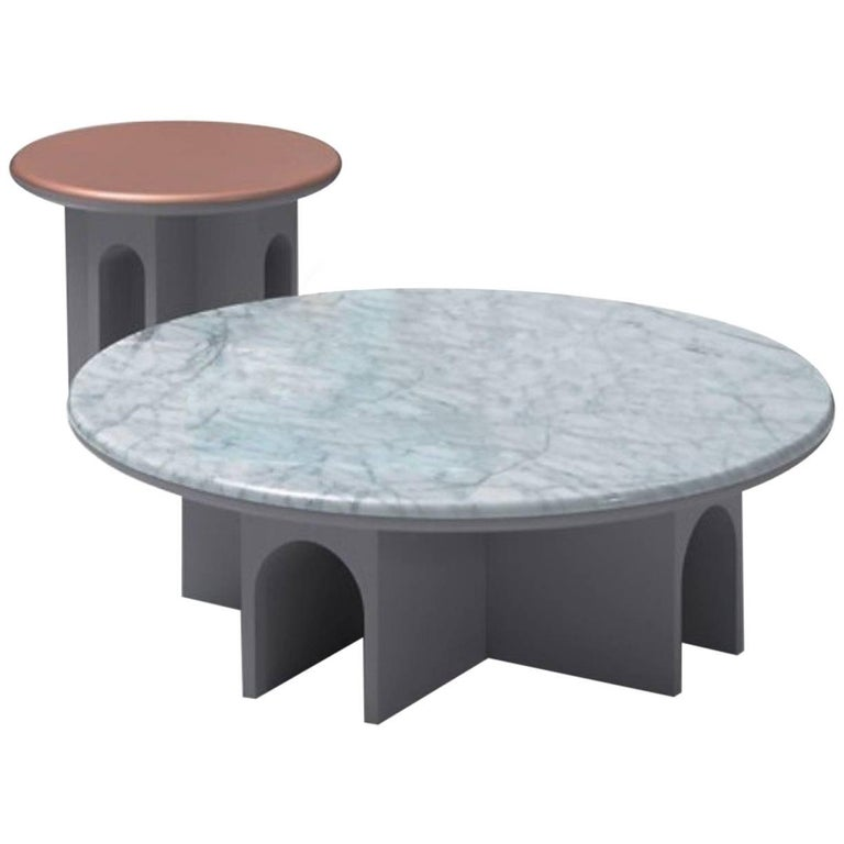 Arcolor Table Set of Two by Jaime Hayon