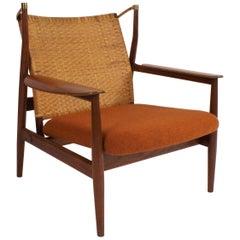 Finn Juhl FJ-55 Easy Chair in Teak for Baker