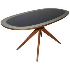 Particular Dining Room Table Dassi Design Italian, Mid-Century, 1950s