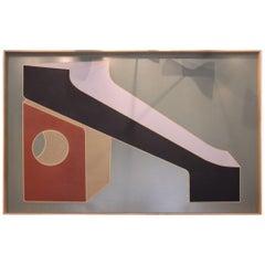 Pierre Malbec Fantastic Oil on Wood Panel