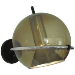 Dutch Design RAAK Globe Wall Light by Frank Ligtelijn, 1960s