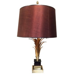 Maison Charles Style Gold Pineapple Lamp