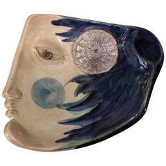 Beautiful Ceramic Dish or Vide-Poche by Cloutier Freres