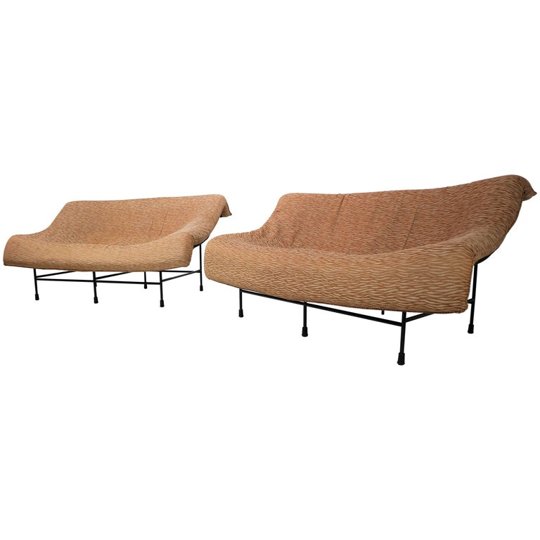 Butterfly Sofa Designed by Gerard Van Den Berg in the 1970s