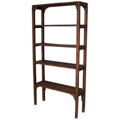 Mid-20th Century Pine Shelving Unit