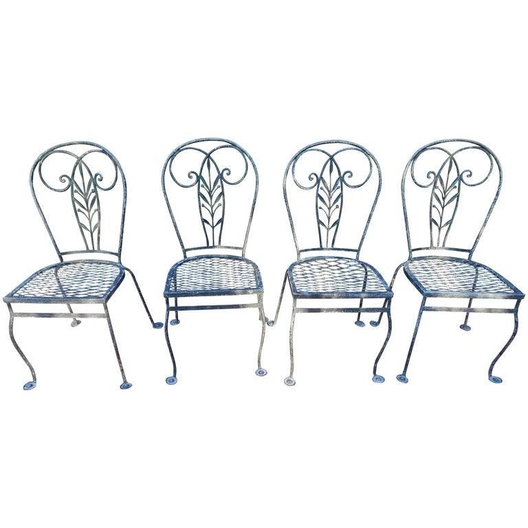 Vintage Salterini Set of Chairs Four