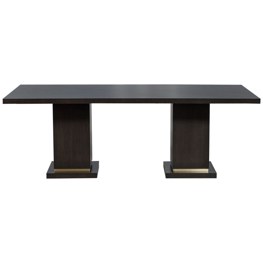 Carrocel Custom Modern Oak Dining Table