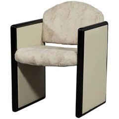 Modern Faux Fur Accent Chair