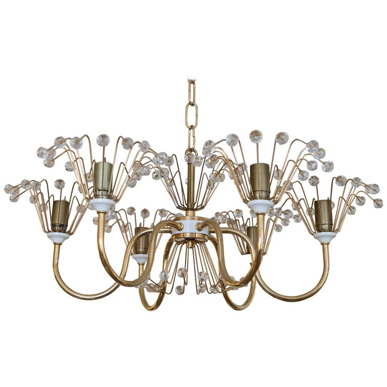Emil Stejnar Chandelier For Sale