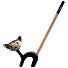 Cat Pencil Holder by Walter Bosse
