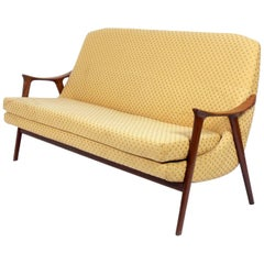 Danish Modern Sofa or Settee by Adolf Relling
