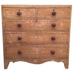 19th Century English Painted Chest