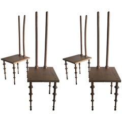"""Chairs """"Museum"""" by Valerio Saltarelli Savi"""