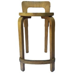 Beautiful Stool Designed by Finnish Architect Alvar Aalto