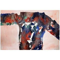 Jacob Semiatin Abstract Painting