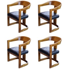 Karl Springer Style Chairs