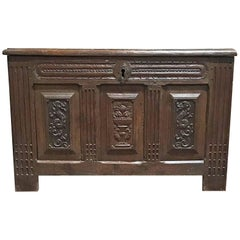 Antique Spanish Chest,  circa 1750