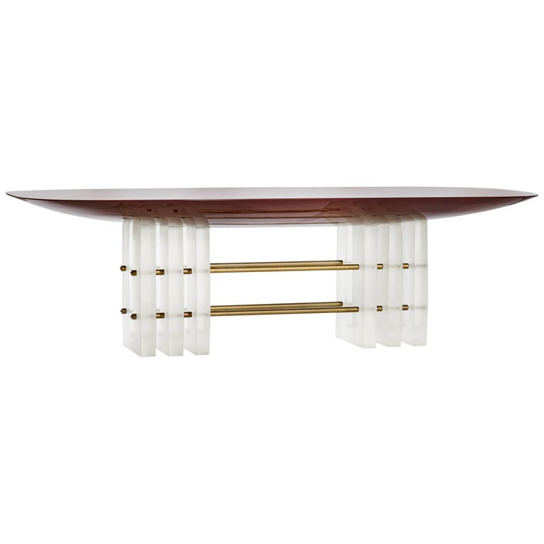 Segment 6 Dining Table by Apparatus 1