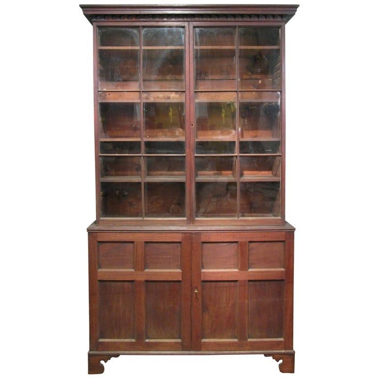 tall glass cabinet antique mahogany and glass door mercantile cabinet 27010