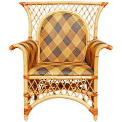 Mackenzie Childs Lounge Chair