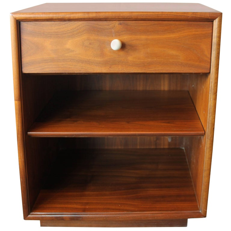 Kipp Stewart Walnut Nightstand 1