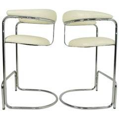 Bar Stools by Anton Lorenz for Thonet