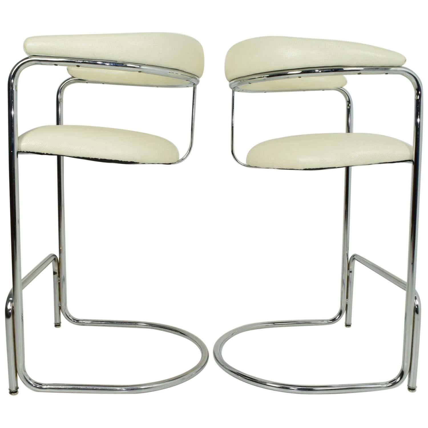 Great Bar Stools By Anton Lorenz For Thonet 1