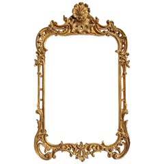 Chippendale Style Gilt Mirror