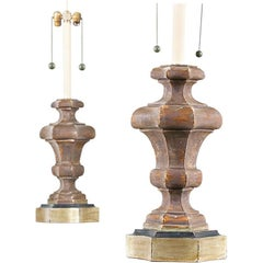 Italian Silver-Gilt Lamps by Marbro
