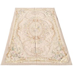 Pale Tone Aubusson Rug, New with Tags 6'x9'