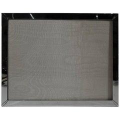 Large American Sterling Silver Frame for Portrait or Landscape Picture
