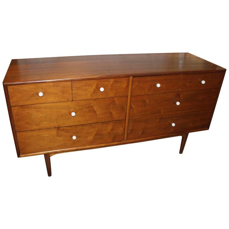 Kipp Stewart Walnut Eight-Drawer Dresser
