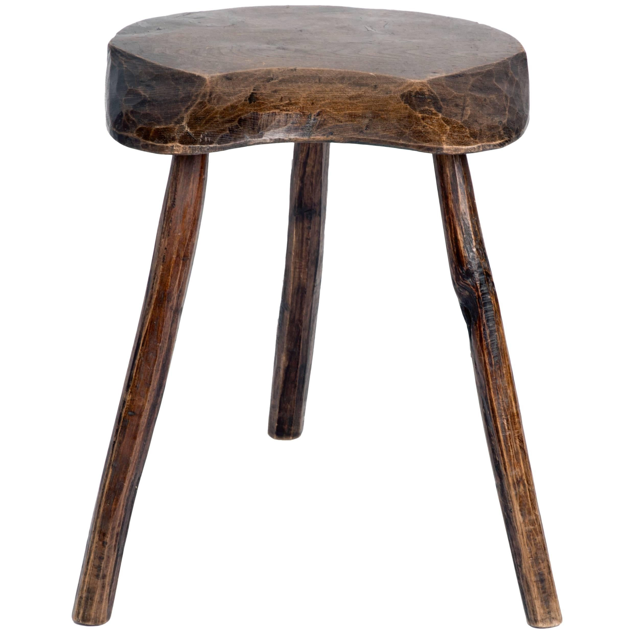 Vintage French Wooden Stool 1  sc 1 st  1stDibs & Vintage French Wooden Stool For Sale at 1stdibs islam-shia.org