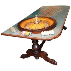 Antique American Roulette Table