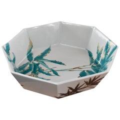 Hand-Painted Contemporary Porcelain Bowl by Yamada yoshiaki