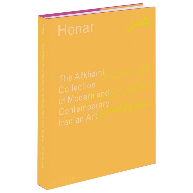Honar, the Afkhami Collection of Modern and Contemporary Iranian Art Book For Sale