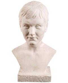 Bust Eleonora Duse Attributable Sculptor Arrigo Minerbi Villa Callas Sirmione