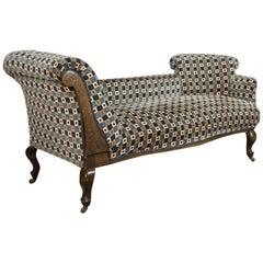 Antique Chaise Longue, Edwardian Daybed, English, circa 1910