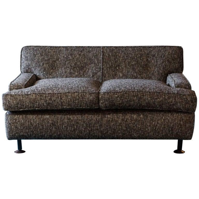 "1962 ""Square"" Two-Seat Sofa by Marco Zanuso"