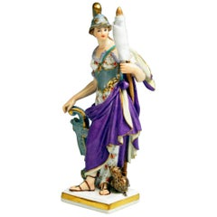 Meissen Minerva Goddess of War Model C 53 Kaendler Kändler Made circa 1840