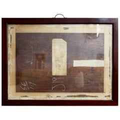 Antique Mahogany Frames/ Specimen Trays/ Museum Display Cases from the V&A