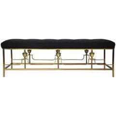 Classic Brass Bench
